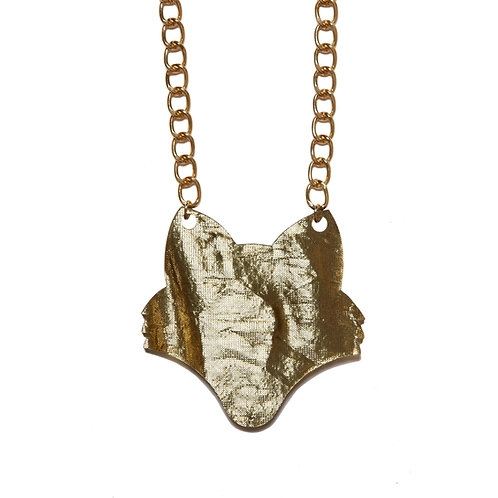 Foxy Gold Necklace