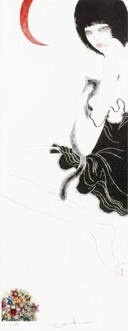 黒猫と女 Masakane Yonekura Art Museum @ Web