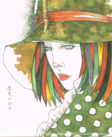 赤毛のひと|Masakane Yonekura Art Museum @ Web