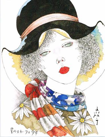 星のスカーフの少女 Masakane Yonekura Art Museum @ Web