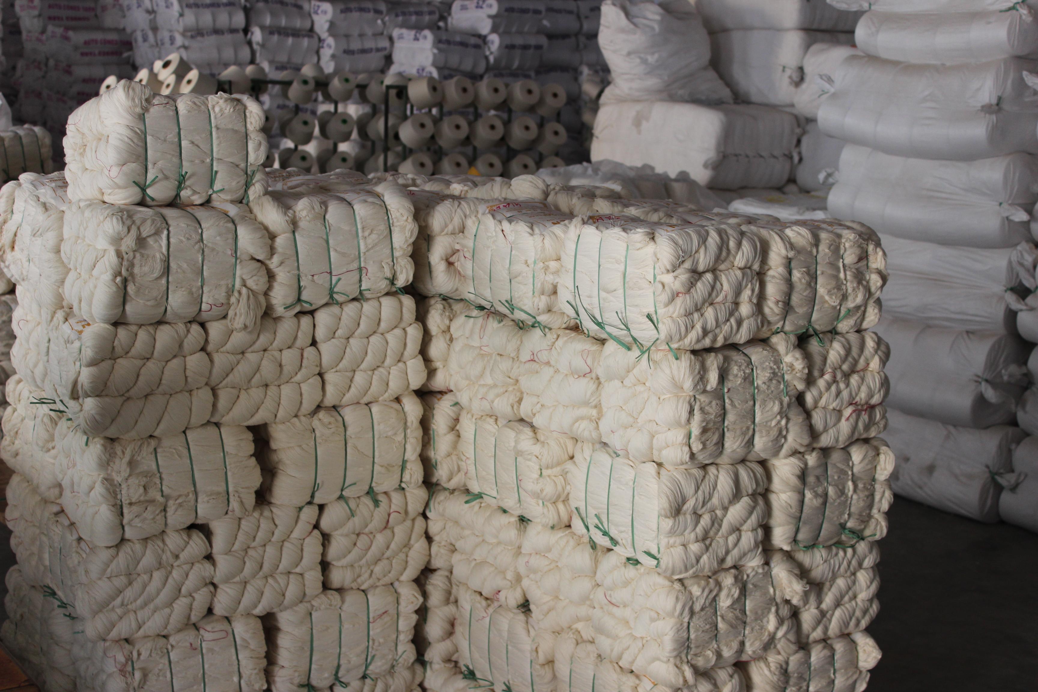 フェアトレードコットンの綿糸