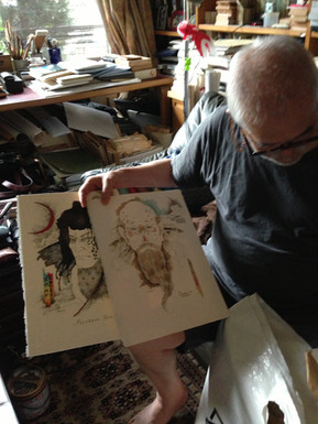 「真田忍侠記」の挿絵を使ったアートグッズの販売開始
