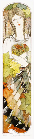 葡萄棚の女 Masakane Yonekura Art Museum @ Web
