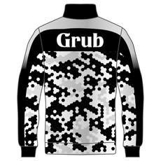 シックになりすぎるブラックをグレーを差し色にすることで気の流れを変えてくれそうなイメージのデザイン