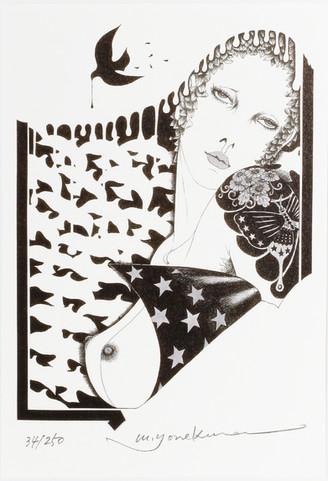 ハトと女|Masakane Yonekura Art Museum @ Web