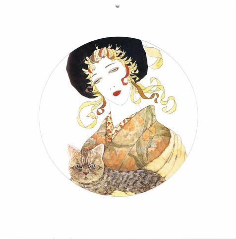 2003年 カレンダーより Masakane Yonekura Art Museum @ Web