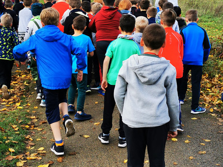 """Schülerbericht: Herbstcrosslauf 2020 - """"Dabei sein ist alles"""""""