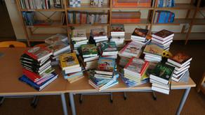 Neue Bücher für unsere Schulbibliothek