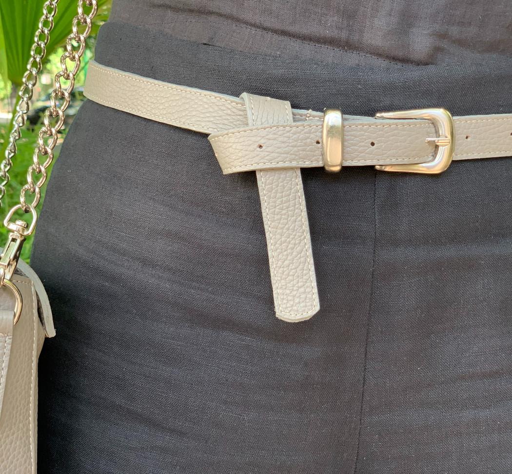 Cinturón Mujer Visón
