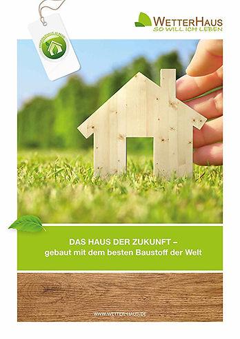 WetterHaus Massivholzhaus Broschüre