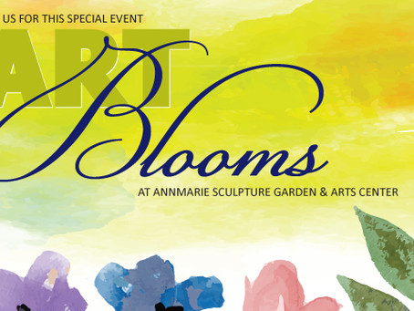 Art Blooms at the Annmarie Sculpture Garden and Arts Center