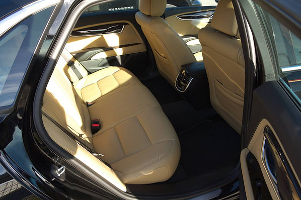 The interior of our sedans and limos will always be clean