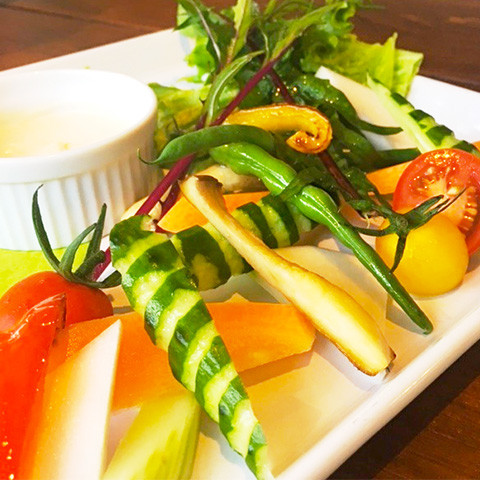 サラダ マルシェ / Salad Marche ¥750~