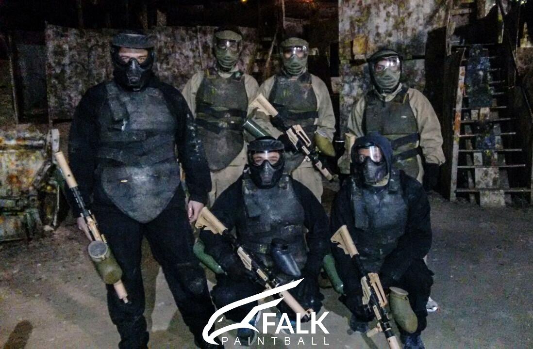 Falk Paintball São Paulo | Jogo 4