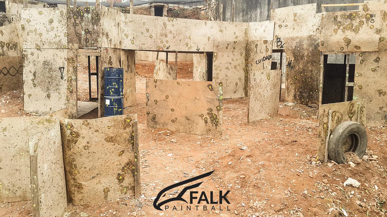 Falk Paintball São Paulo | Campo 2