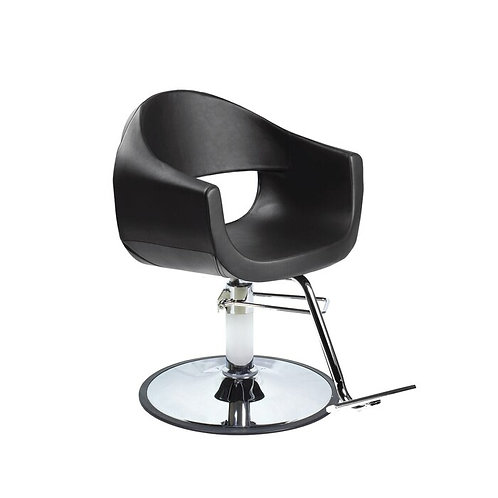 MILLA Styling Salon Chair with A12 Pump Black