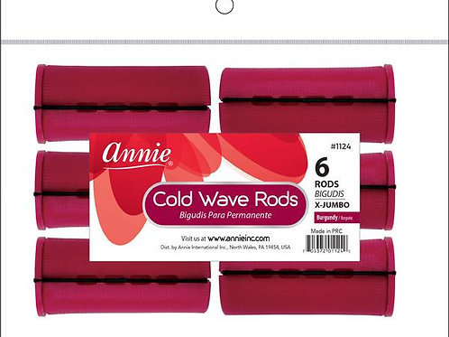 Annie Burgendy Perm Rod 6ct X-Jumbo