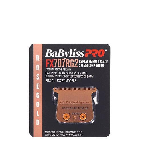 FX707RG2 Babyliss Pro T-Blade 2mm Rose Gold