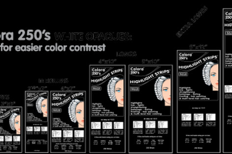 Colora Highlighting Strips Multiple Sizes