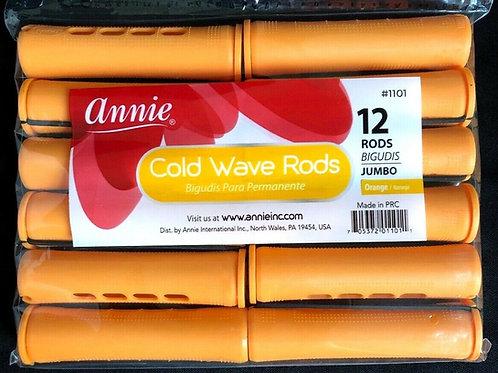 Annie Orange Perm rods 12ct.
