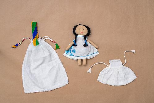 Tanka Doll - Running Stitch