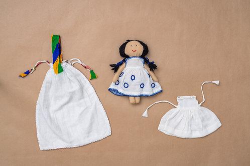 Tanka Doll - Buttonhole Stitch