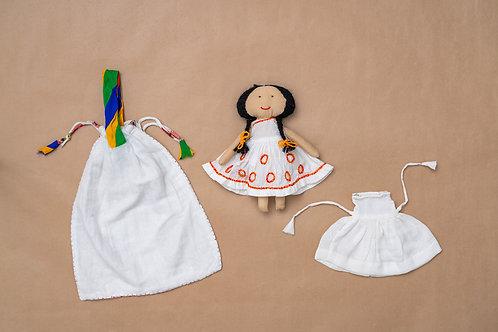 Tanka Doll - Chain Stitch