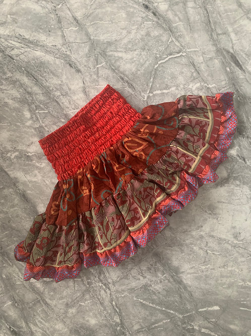 CHERRY Mini Gypsy Skirt