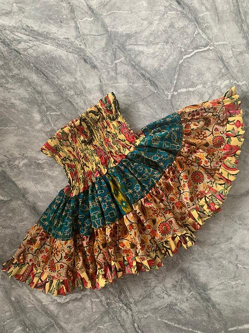 MINI FLOWER Gypsy Skirt
