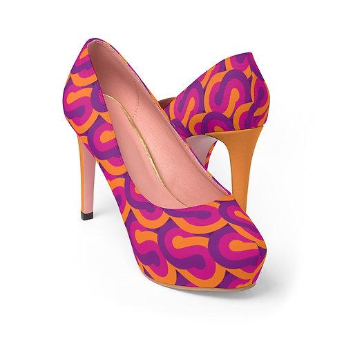 Retro Women's Platform Heels