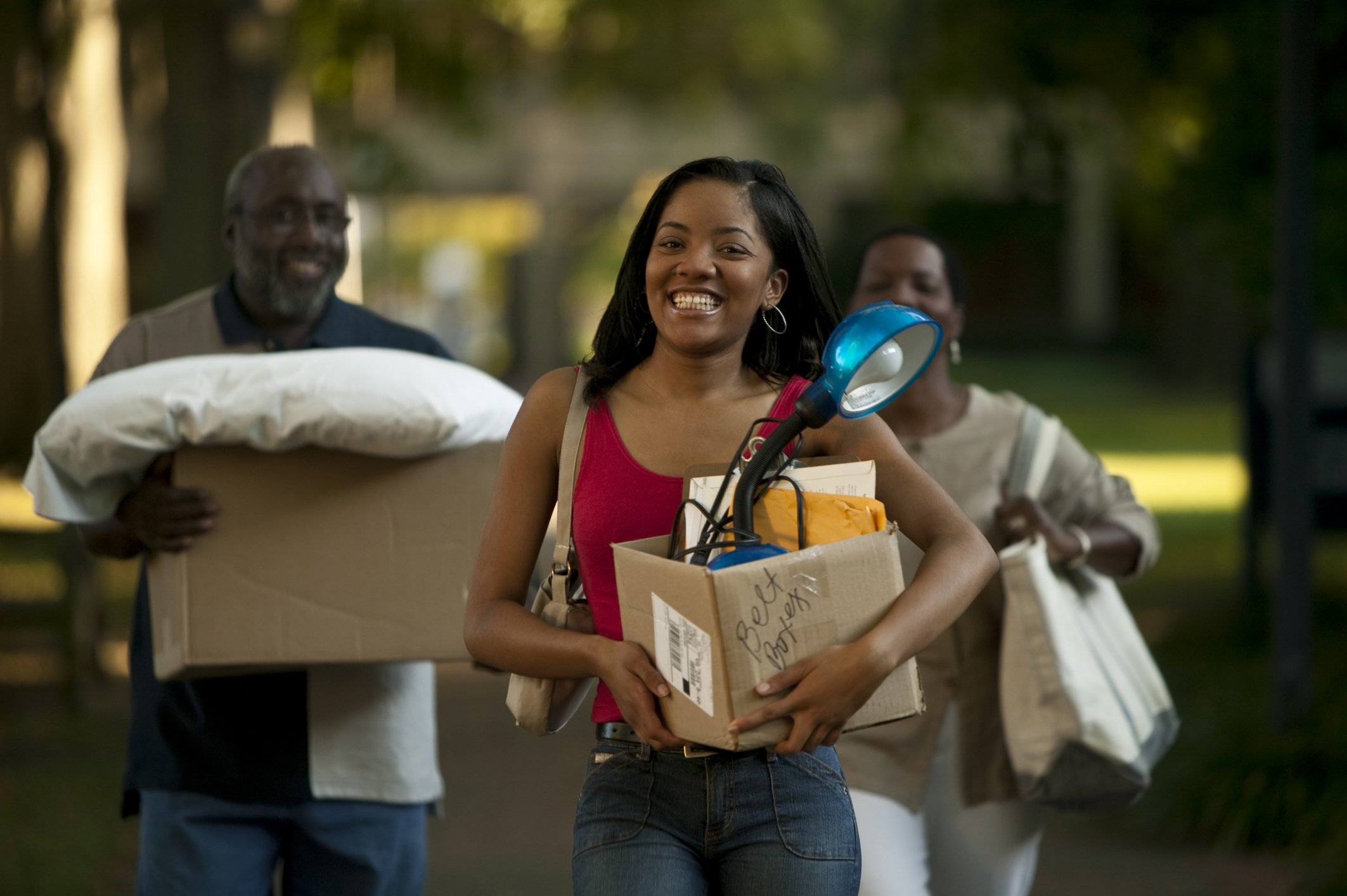 African-American-Student-College-Move-In
