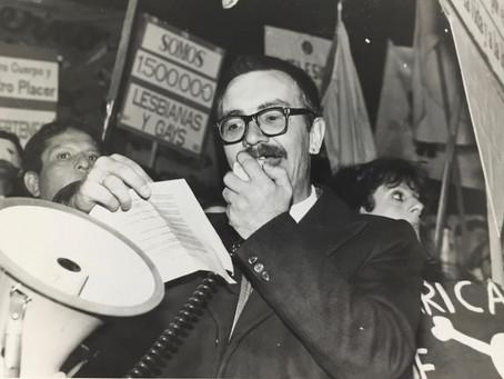 Carlos Jáuregui: visibilidad, política y orgullo