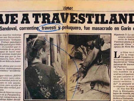 Las embajadoras de Travestilandia