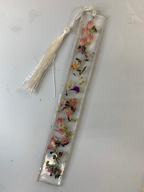 Flower Resin Bookmark