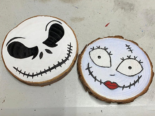 Jack & Sally Coaster set