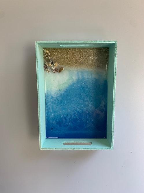 Ocean Resin Tray
