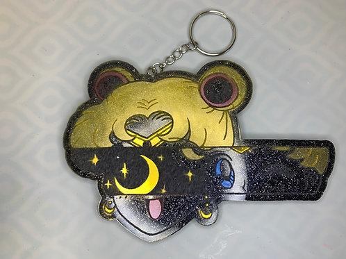 Sailor Moon Keychain Plaque