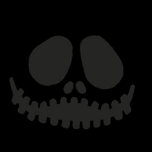 Jack Face Sticker