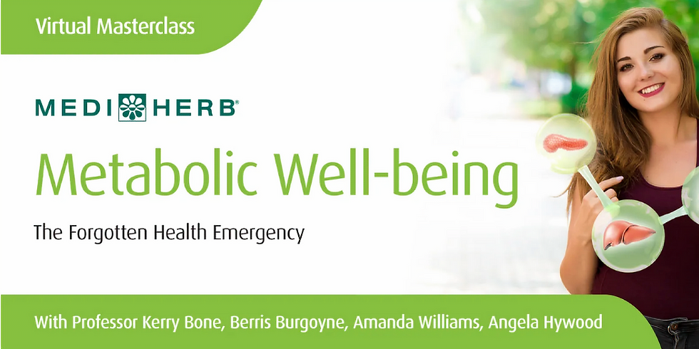 Metabolic Well-being: The Forgotten Health Emergency