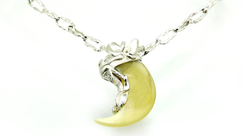 415€ - Pingente de prata com garra de leão