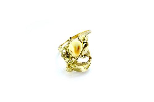 754€ - Anel de ouro 18k com grandel