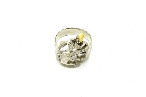 70€ - Anel porta-guardanapo de prata com grandel