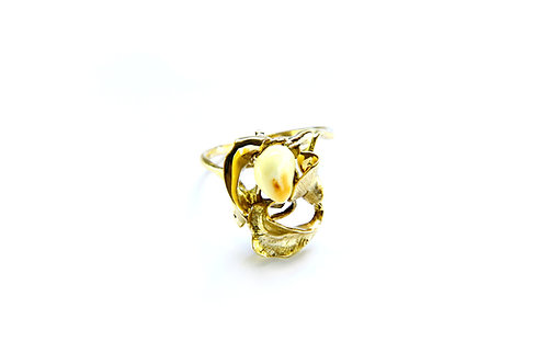 870€ - Anel de ouro com grandl