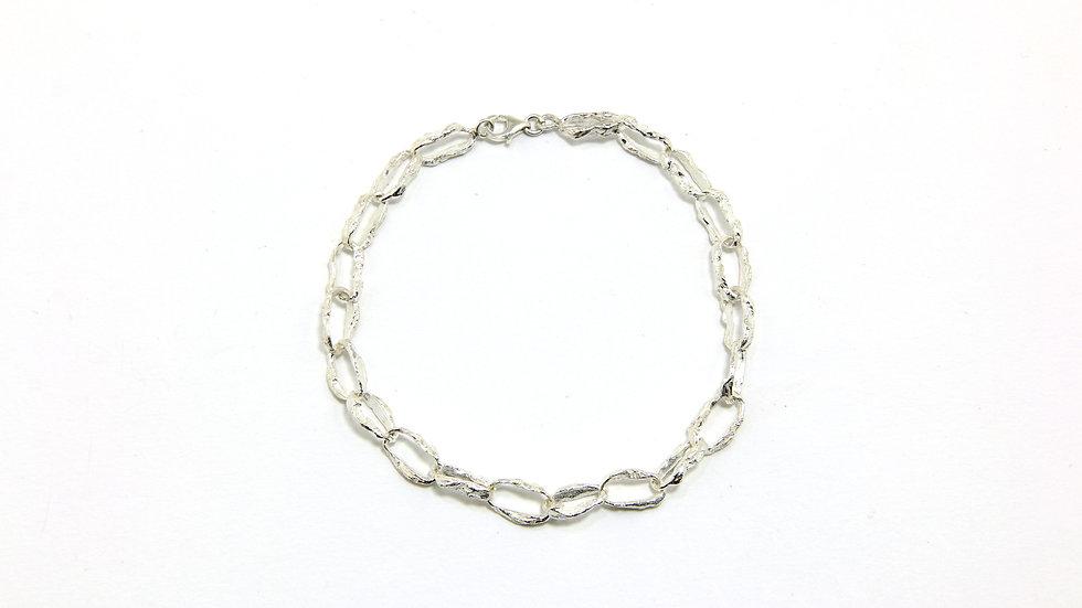 35€ - Pulseira de prata 22cm