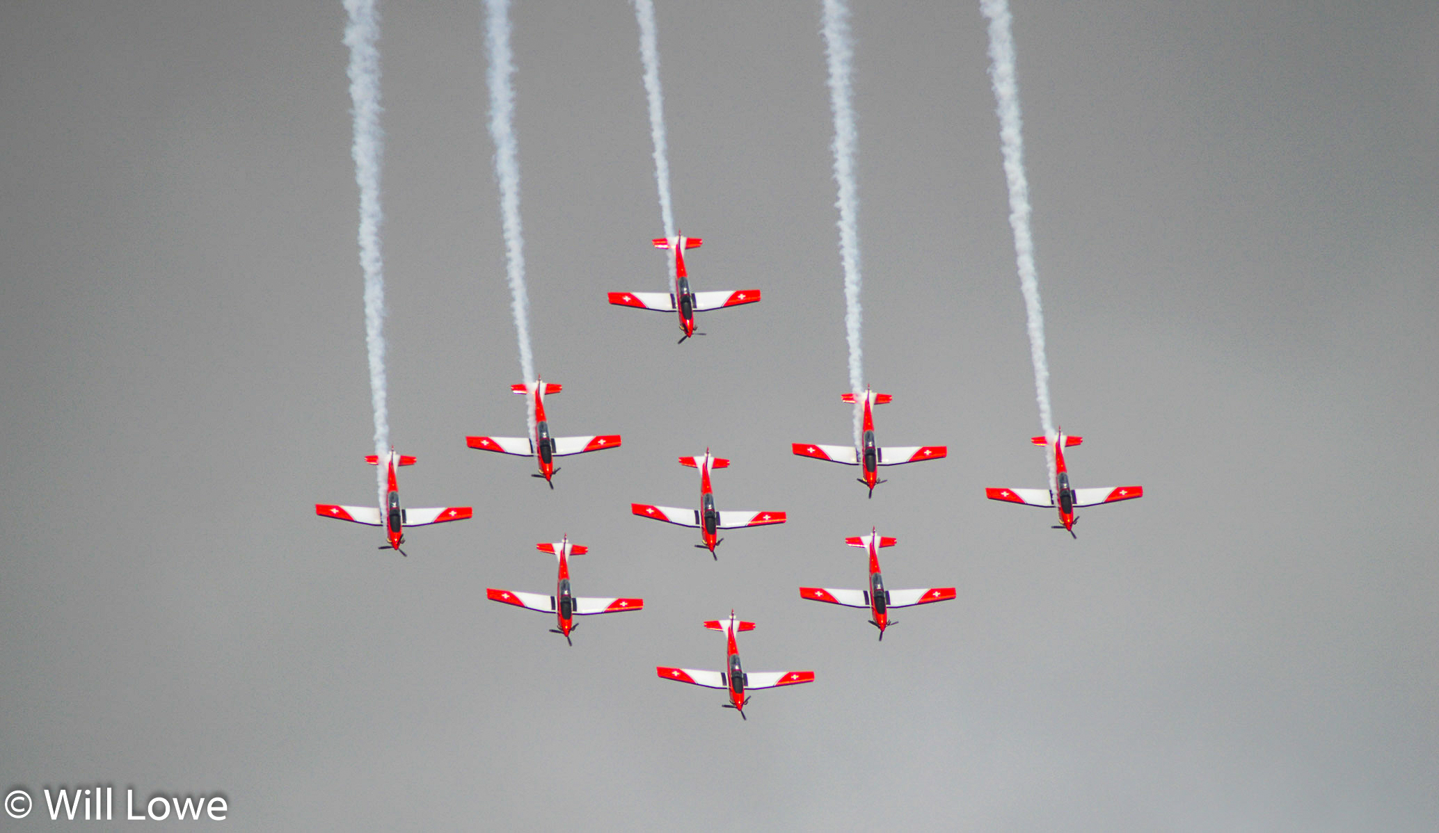 Swiss PC-7 Display Team