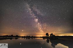 Milky Way over Andrews Mere
