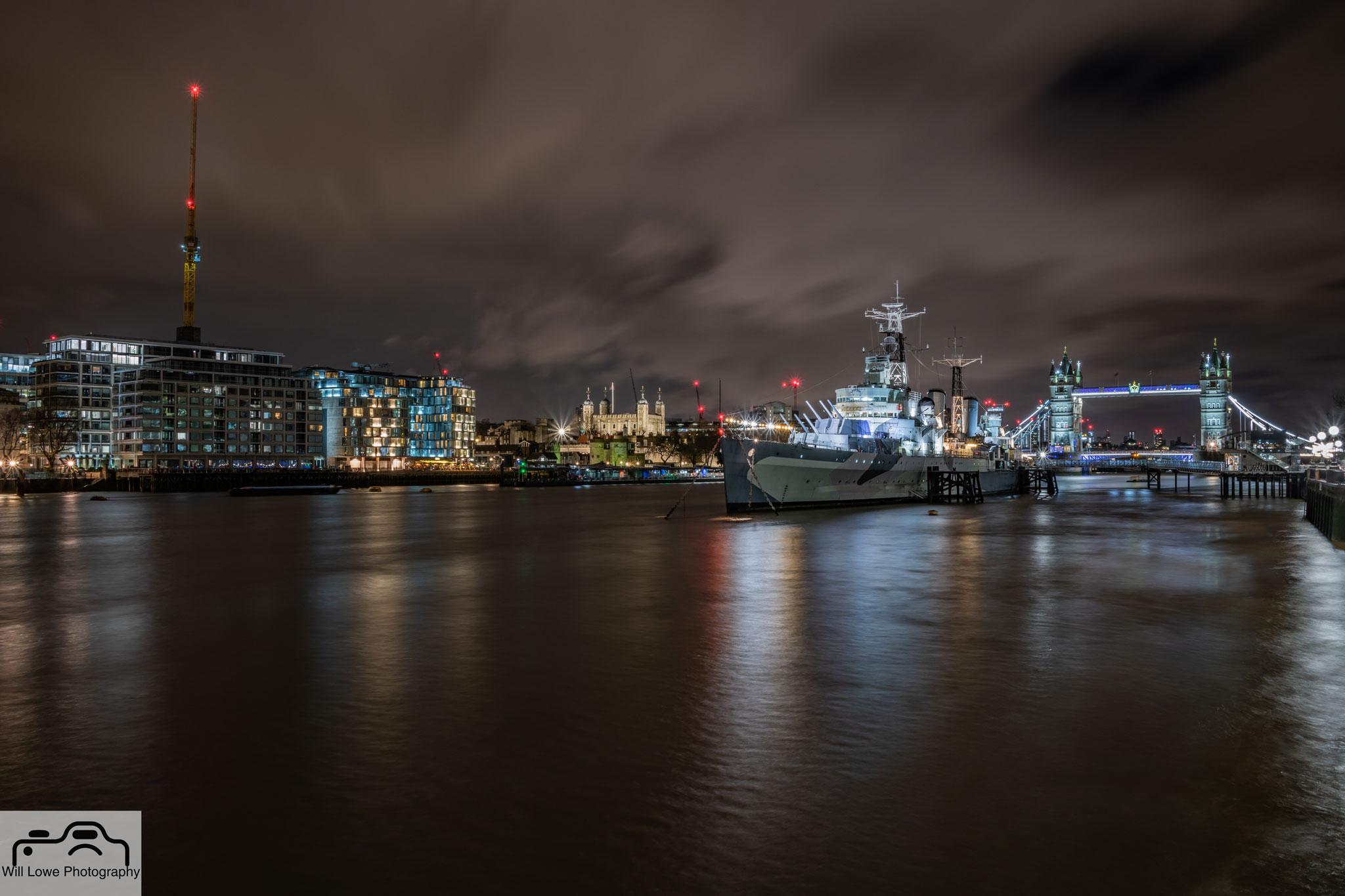 HMS Belfast - River Thames