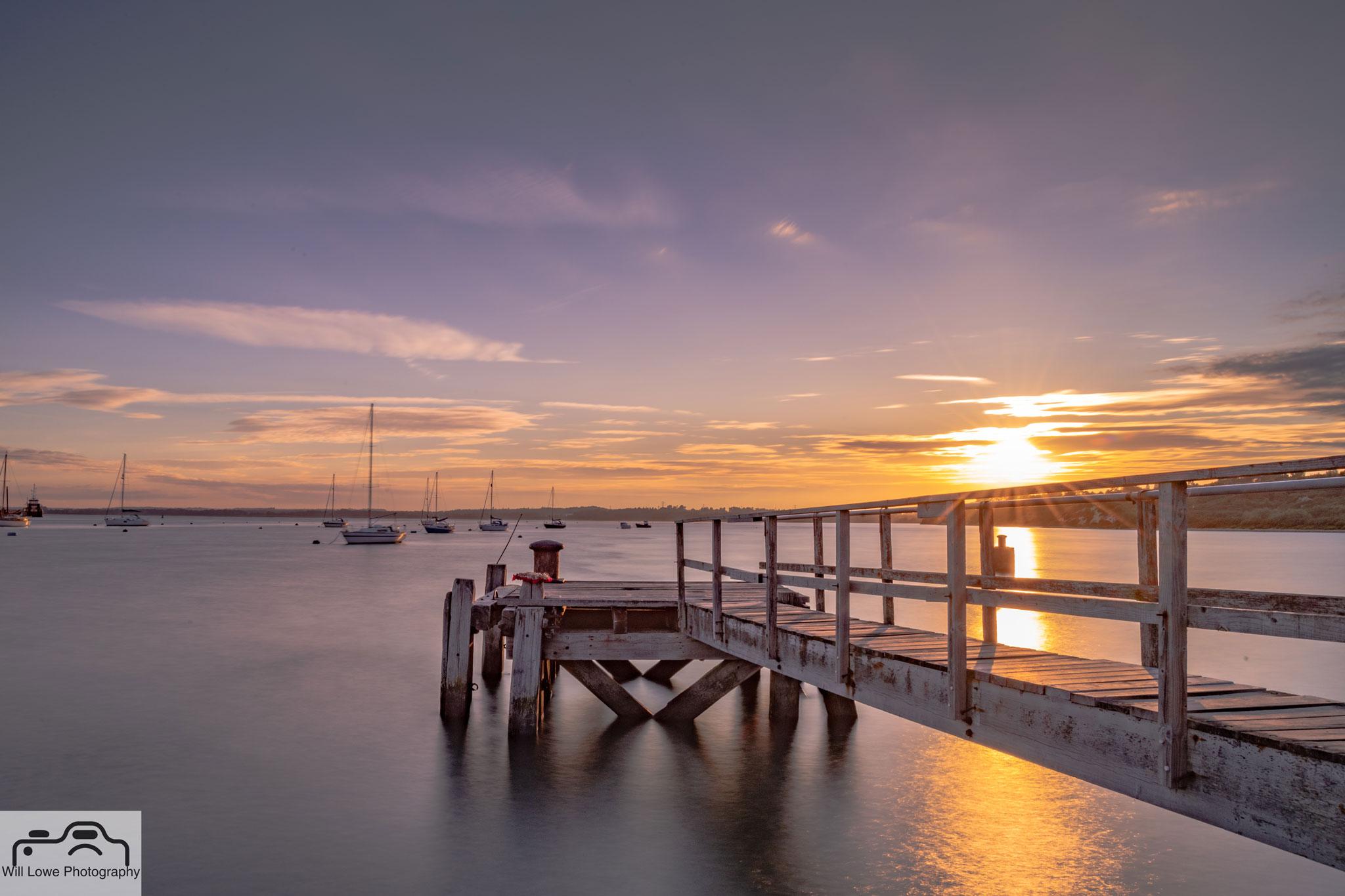 Sunset Lake Pier