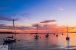 Moorings Sunset
