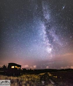 Milky Way at Hartland Moor